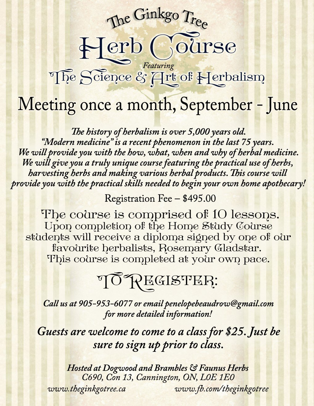 Evergreen School of Integrative Herbology - Courses
