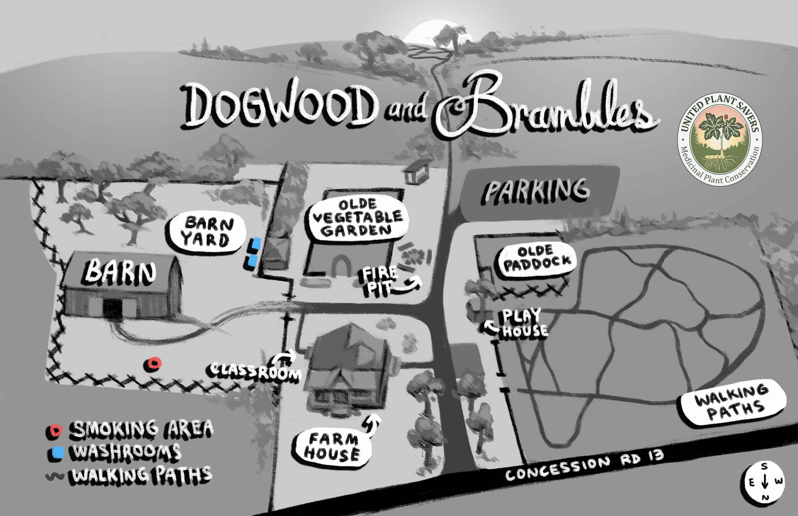 map of dogwood and brambles final