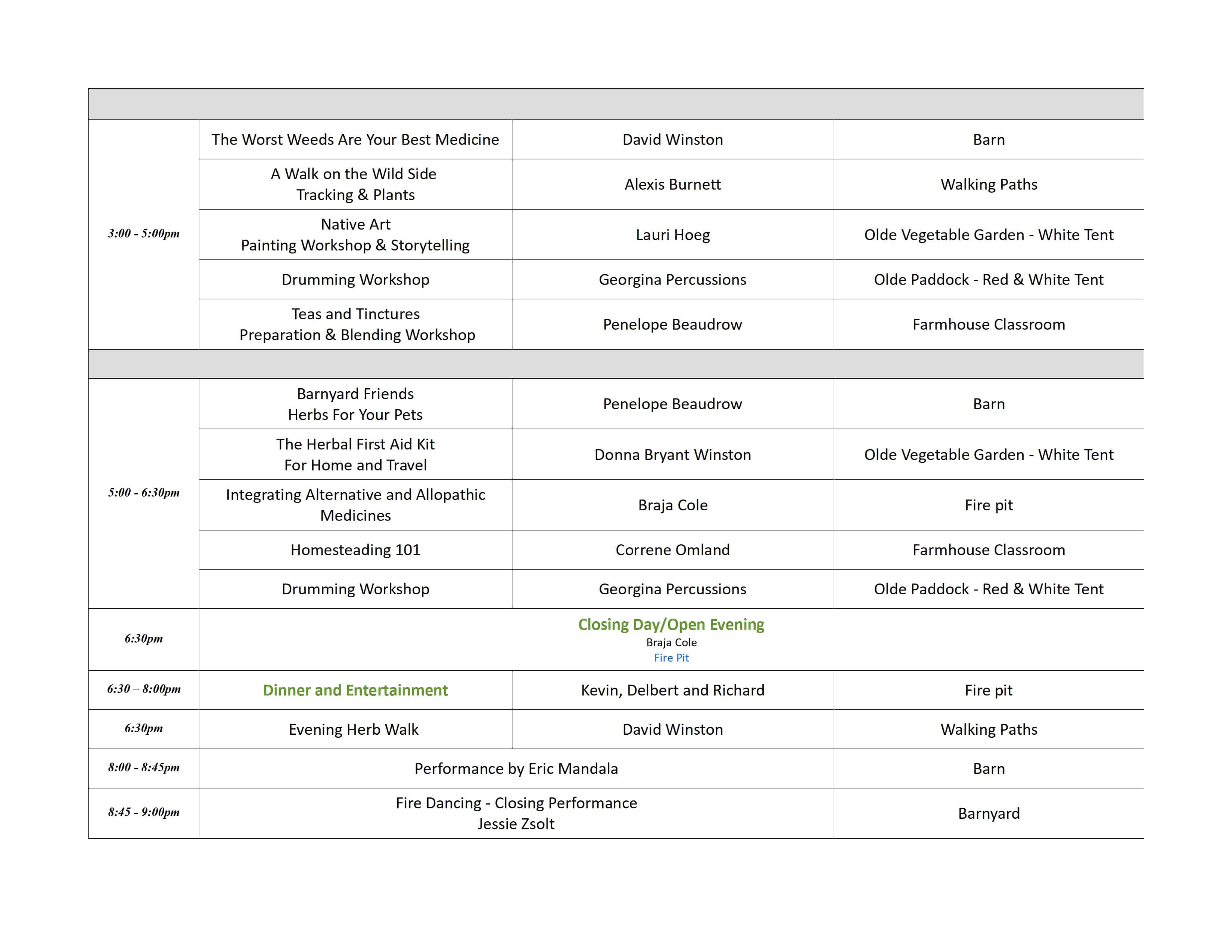 BTYR schedule 2018 final 2